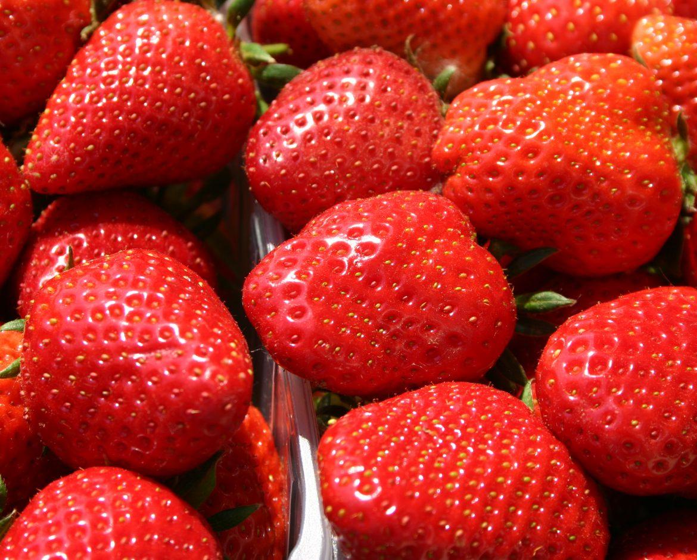 Strawberries; fraises