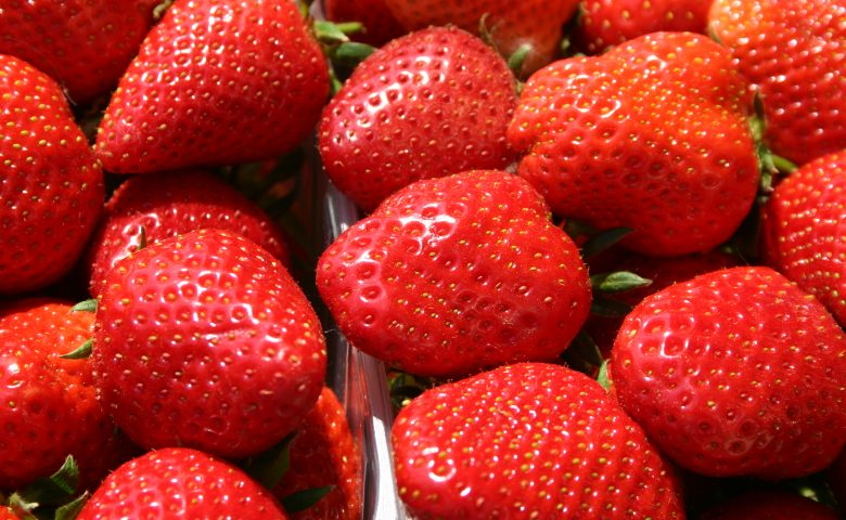 Strawberries; fraises